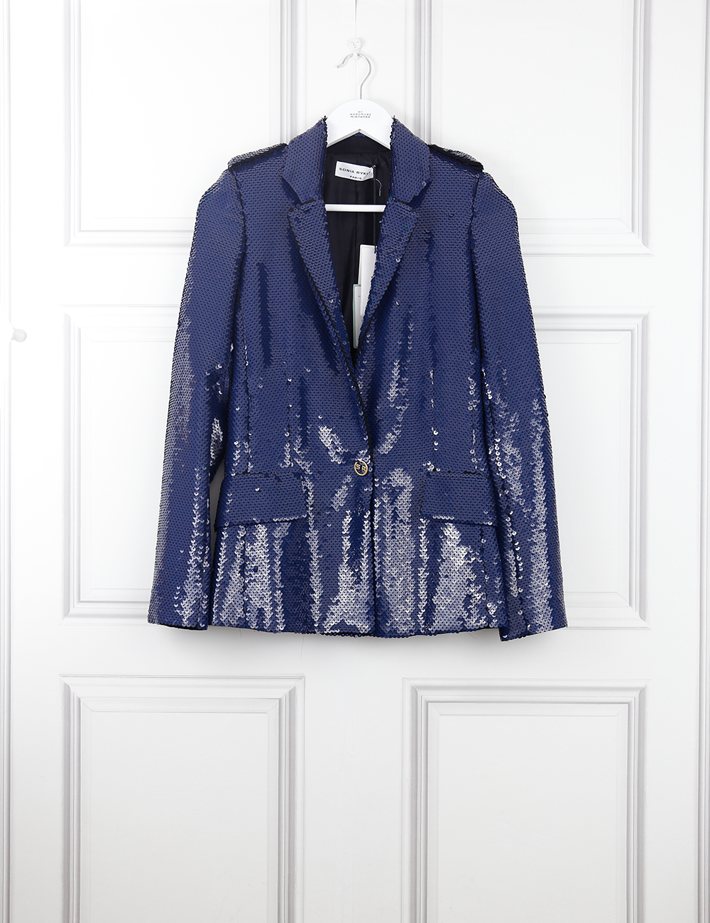 SONIA RYKIEL CLOTHING Sequined crepe jacket
