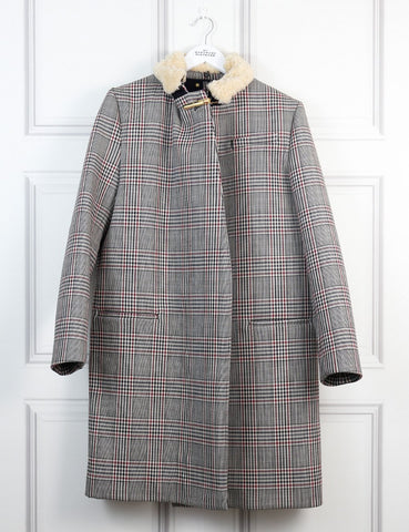 Sophie Hulme multicolour checked Coat 12UK- My Wardrobe Mistakes