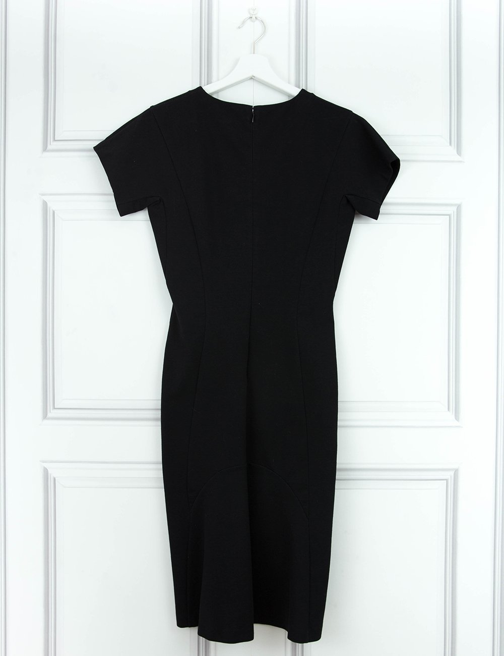 STELLA McCARTNEY CLOTHING Black knee-length shift dress 16UK- My Wardrobe Mistakes