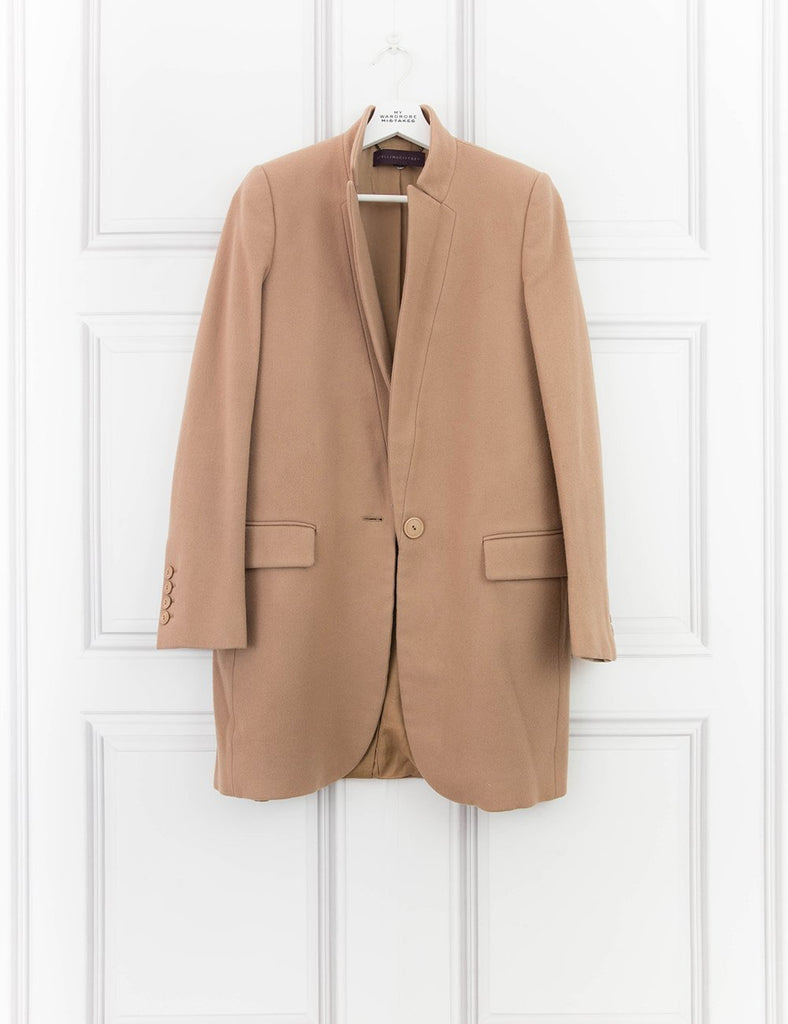 STELLA McCARTNEY CLOTHING Classic mid-length coat- My Wardrobe Mistakes