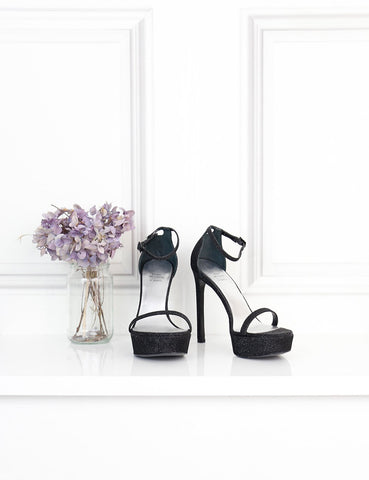 Stuart Weitzman black Nudist sandals 2UK- My Wardrobe Mistakes