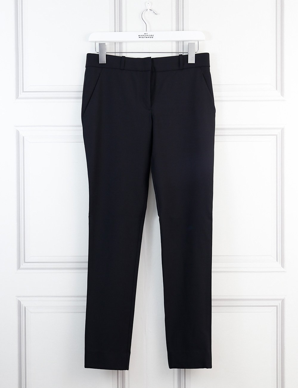 The Row black classic trousers 4Uk
