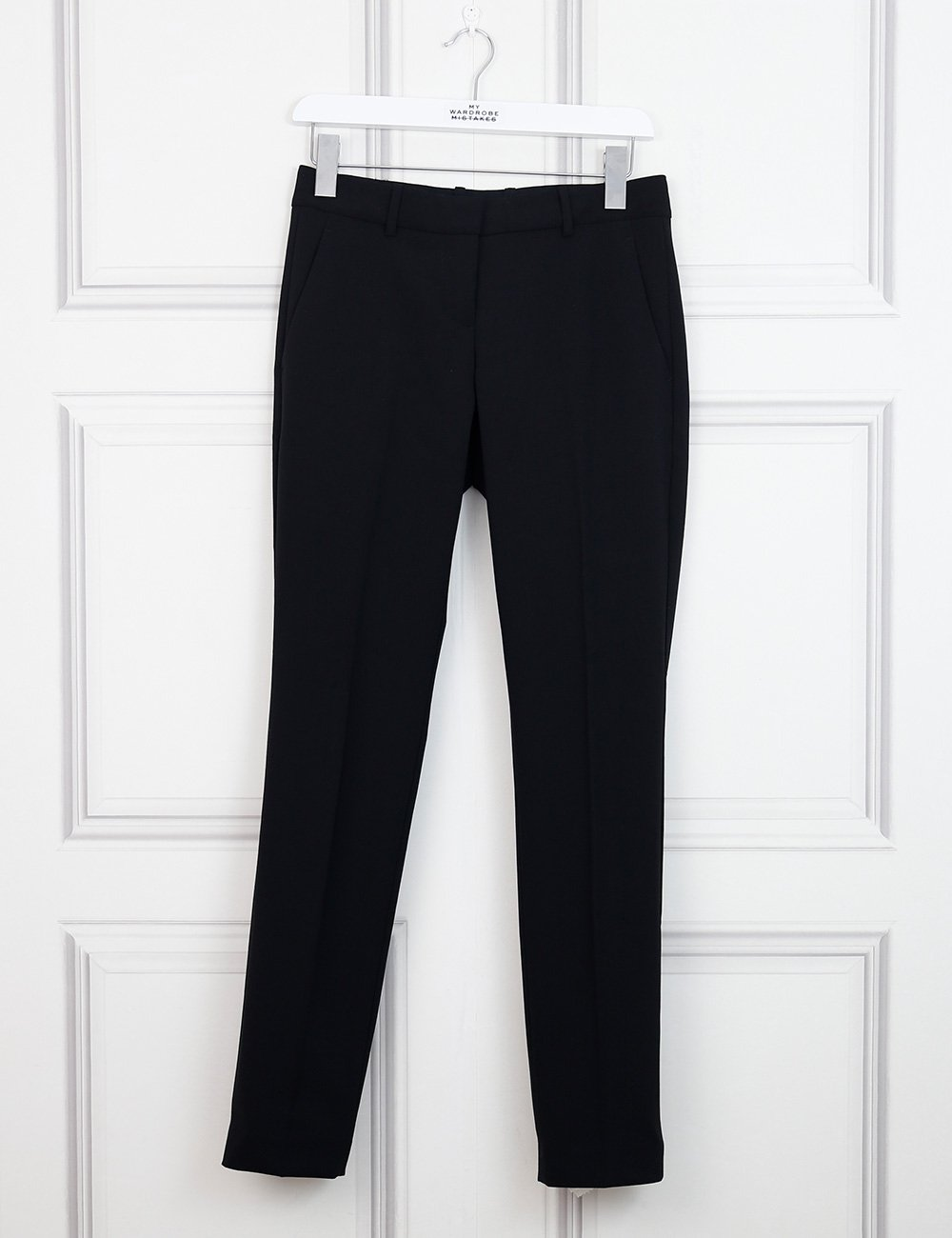 THEORY CLOTHING 6UK-38IT-34FR / Black THEORY Classic tailored trousers with side pockets