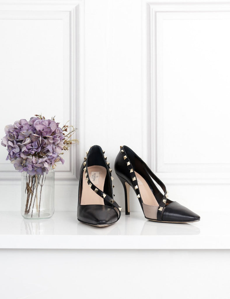 Valentino Garavani black rockstud pumps 6UK- My Wardrobe Mistakes