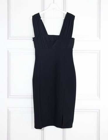 Versace black delicate sleeveless dress 10UK- My Wardrobe Mistakes
