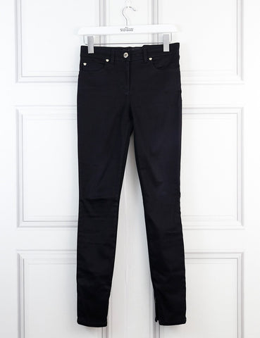Versace black jeans with medusa details 8Uk