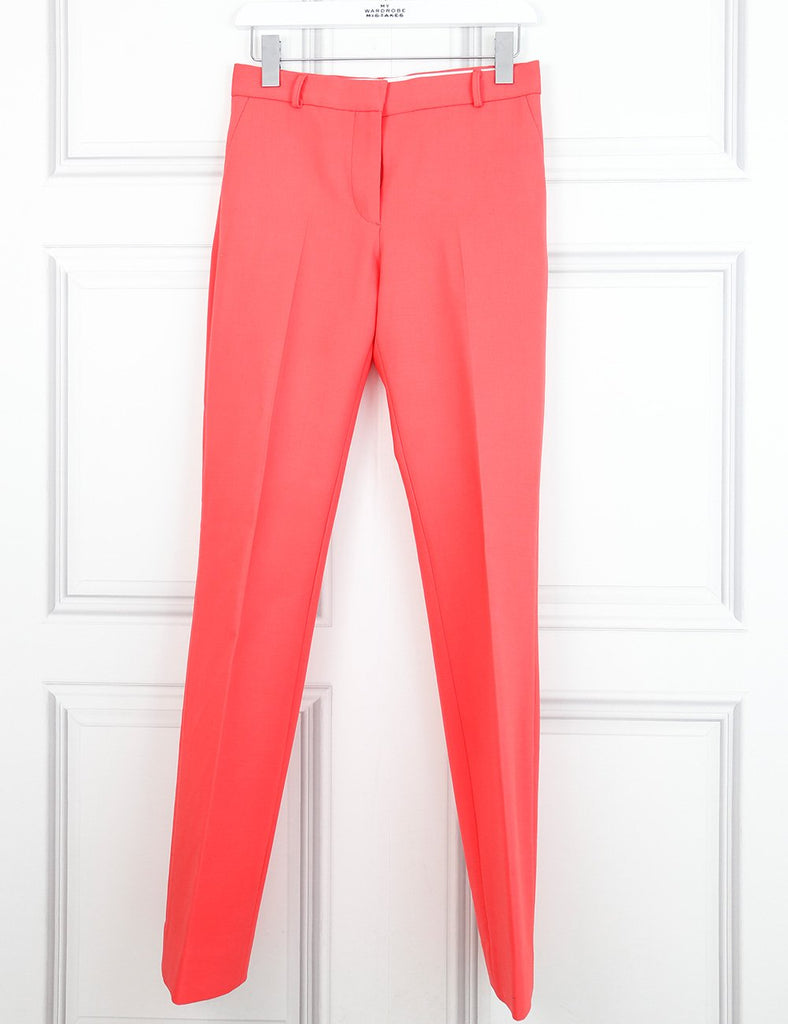 Victoria Beckham pink suit with tailored trousers and sleeveless top 6UK- My Wardrobe Mistakes