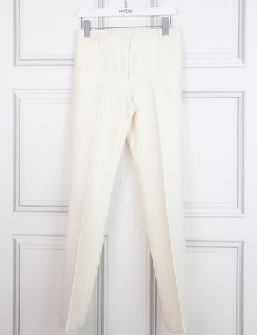 Victoria Beckham white suit with tailored trousers and sleeveless top 6UK- My Wardrobe Mistakes