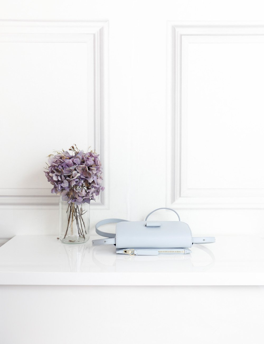 Wandler light blue Anna leather belt bag- My Wardrobe Mistakes