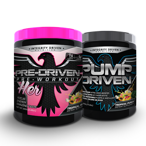 PRE-PERFORMANCE STACK FOR HER (1 Pre-Driven-PINK and 1 Pump-Driven)