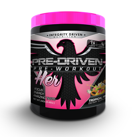 PRE-DRIVEN PRE-WORKOUT FOR HER