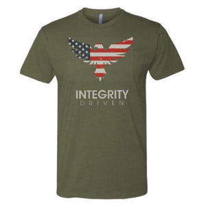 T-Shirt - Limited Edition Camo Green Stars & Stripes