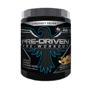 PRE-DRIVEN PRE-WORKOUT - BLACK