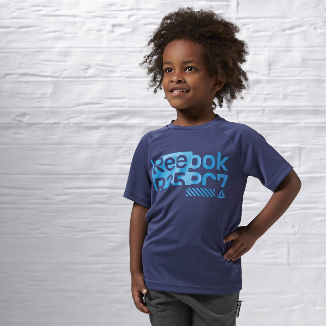 Boy's Essential Polyester Tee Plus