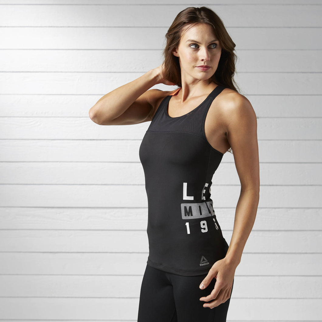 LES MILLS Tank with built In bra