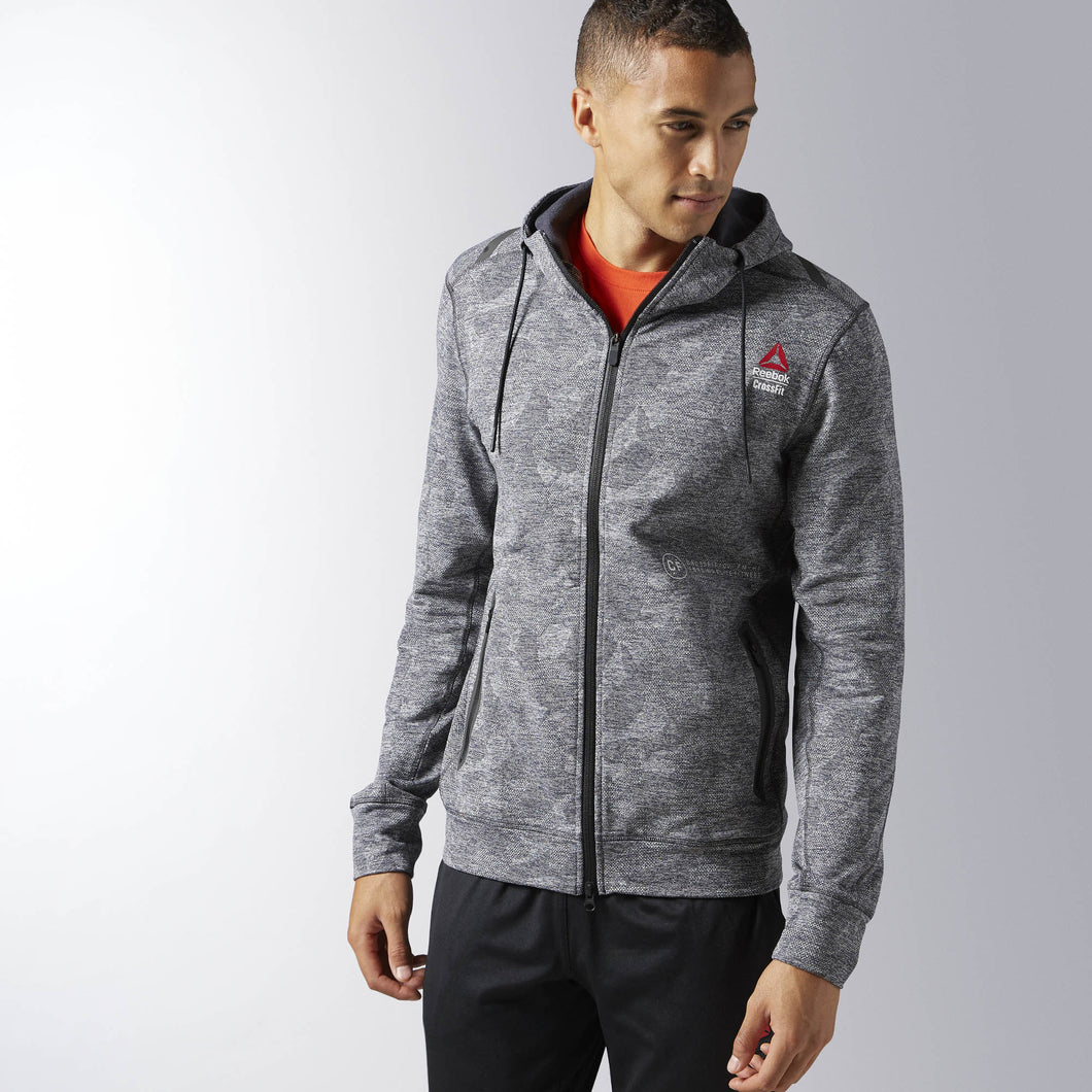 Reebok CrossFit Fleece Full Zip Hoodie