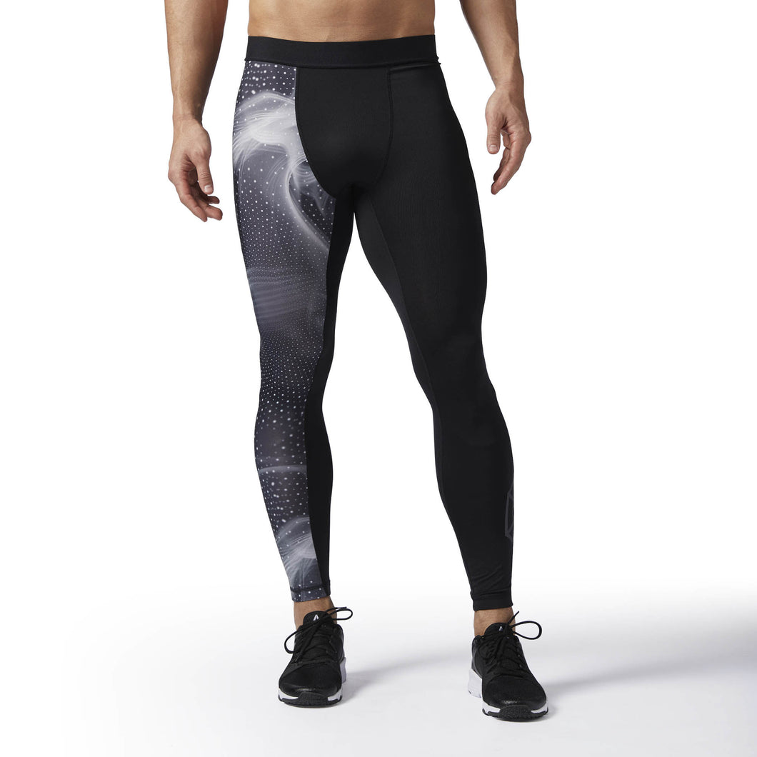 Printed Compression Tights