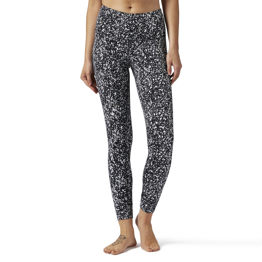 High Rise Lux Bold Legging - Speckle Print