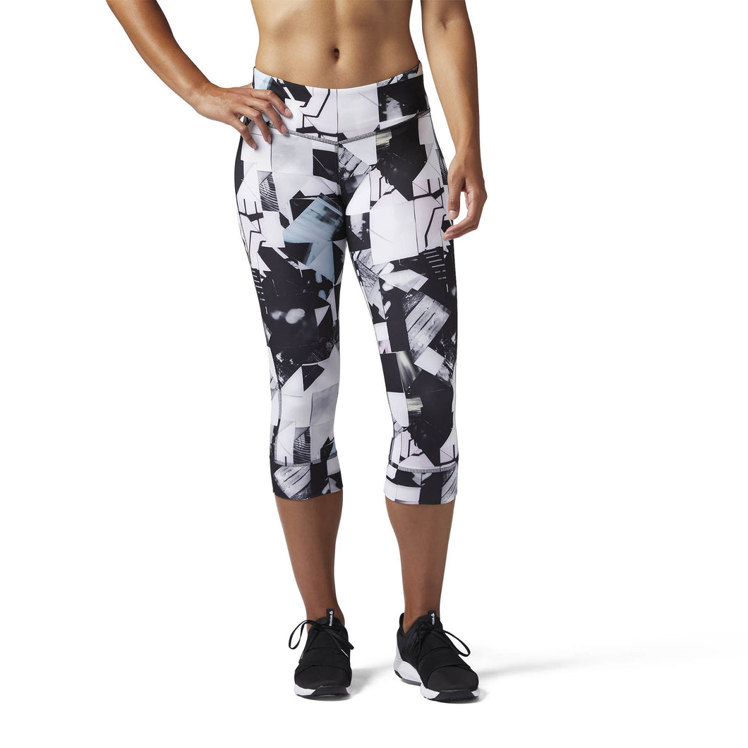 Lux 3/4 Legging - Photo Fold Print