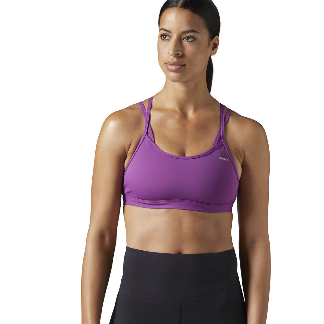 Reebok Hero Strappy Sports Bra