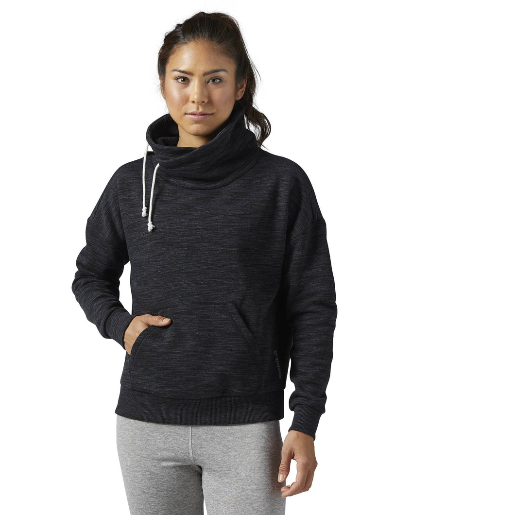 Elements Marble Cowl Neck Sweatshirt