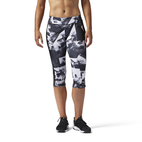 Workout Ready Smoke Print Capri