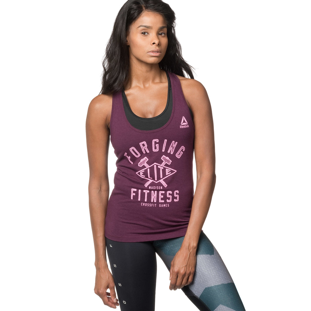 Reebok CrossFit Games Forging Elite Fitness Diamond Tank