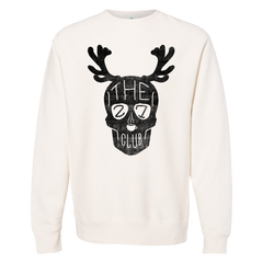 The 27 Club - Off White Reindeer Crew Neck