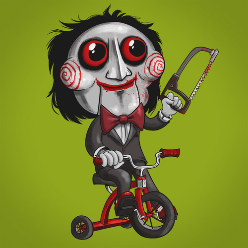 Billy the Puppet - Terror Toddlers Series Art Print