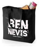 Ben Nevis canvas shopping bag