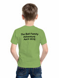 Thames Path kid's t-shirt