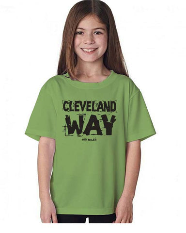 Cleveland Way kid's t-shirt