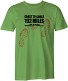 Coast to Coast 'Sore Feet' t-shirt