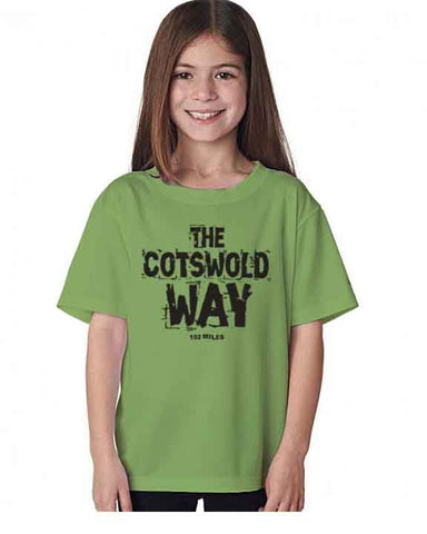 Cotswold Way kid's t-shirt