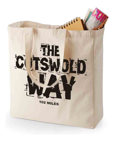 Cotswold Way Canvas Shopping Bag
