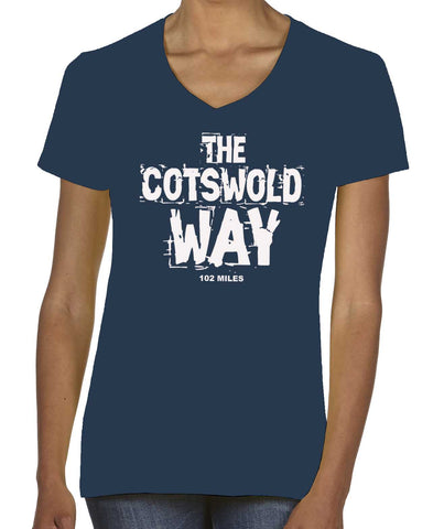 Cotswold Way women's v-neck t-shirt