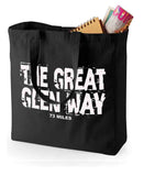 Great Glen Way canvas shopping bag