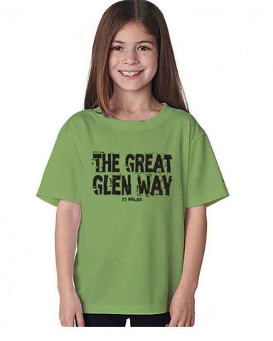 Great Glen Way kid's t-shirt
