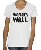 Hadrian's Wall women's v-neck t-shirt