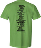 Isle of Wight Coast Path 'Sore Feet' t-shirt