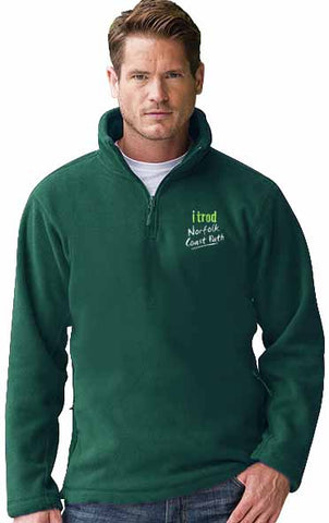 Norfolk Coast Path 1/4 zip fleece