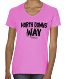 North Downs Way women's v-neck t-shirt