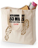 North Downs Way 'Sore Feet' canvas shopping bag