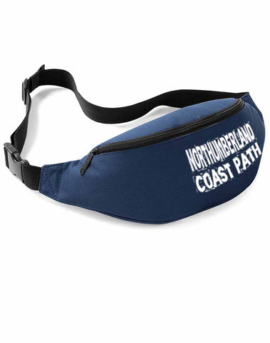 Northumberland Coast Path bum bag