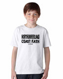 Northumberland Coast Path kid's t-shirt