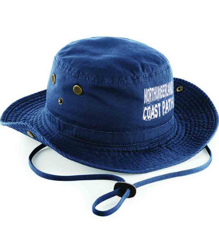 Northumberland Coast Path outback hat