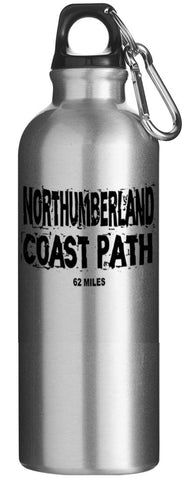 Northumberland Coast Path drinks bottle