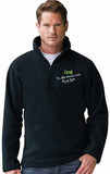 Northumberland Coast Path 1/4 zip fleece