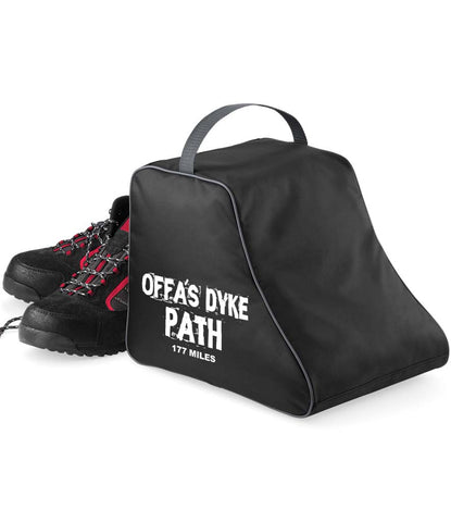 Offa's Dyke Path hiking boot bag
