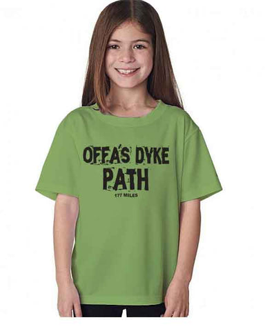 Offa's Dyke Path kid's t-shirt